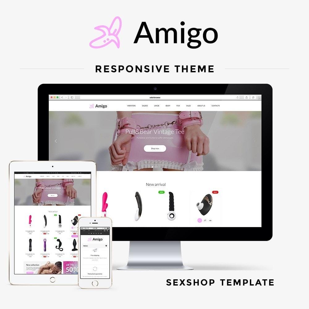 theme - Lingerie & Adulte - Amigo SexShop - 1