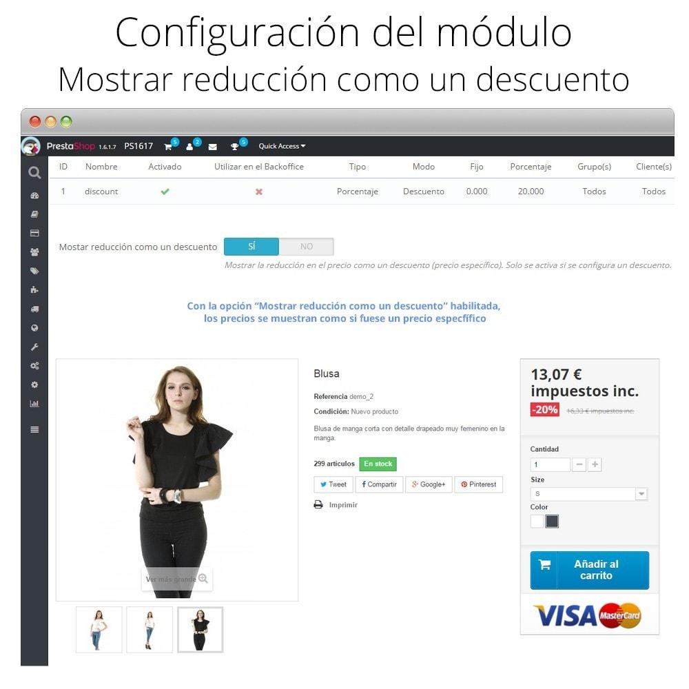 module - Promociones y Regalos - Incremento/Descuento de precio por grupo, categoría... - 4