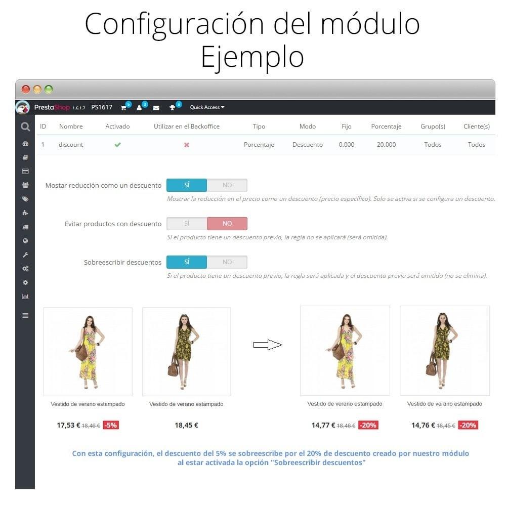module - Promociones y Regalos - Incremento/Descuento de precio por grupo, categoría... - 7