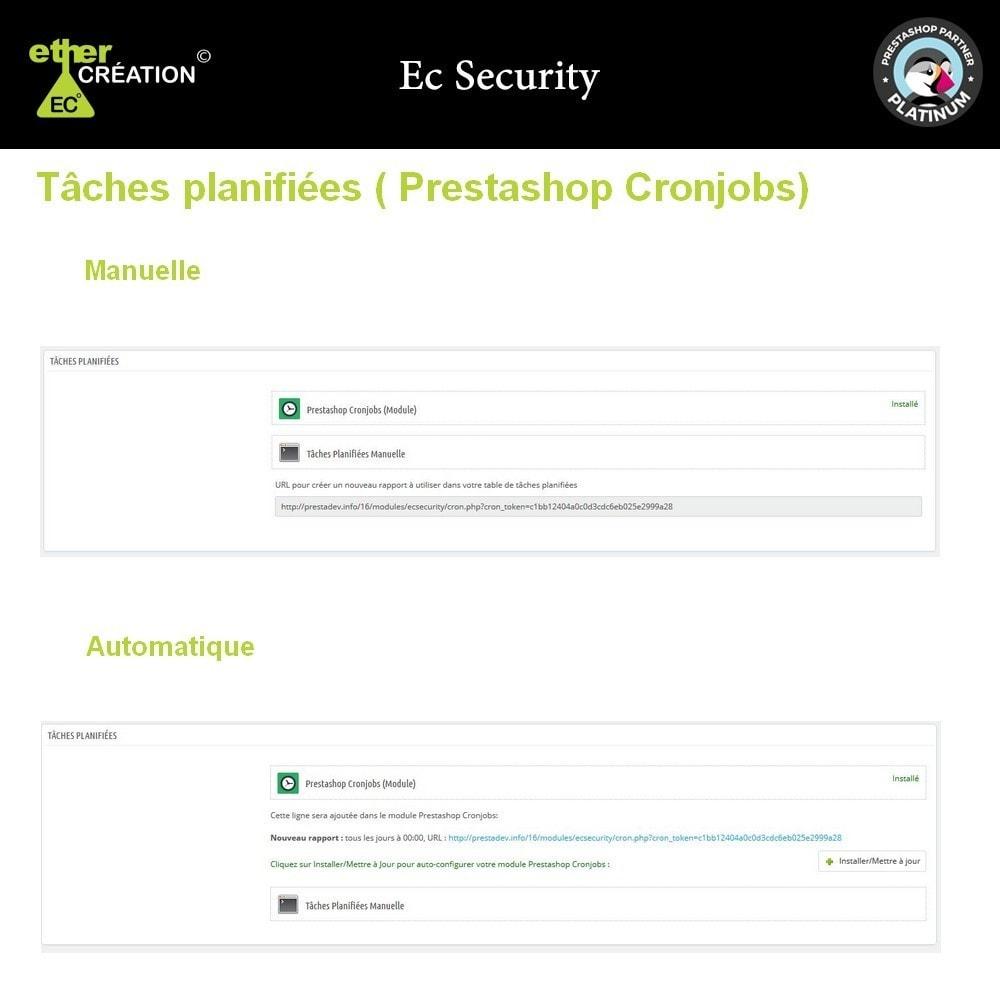 module - Sécurité & Accès - Rapport des fichiers modifiés de votre boutique - 5