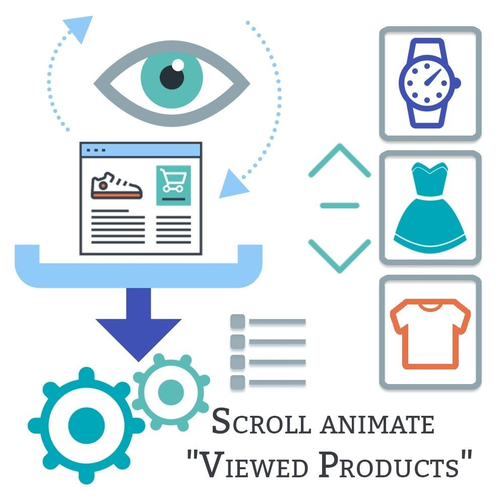 module - Products on Homepage - Scroll animate