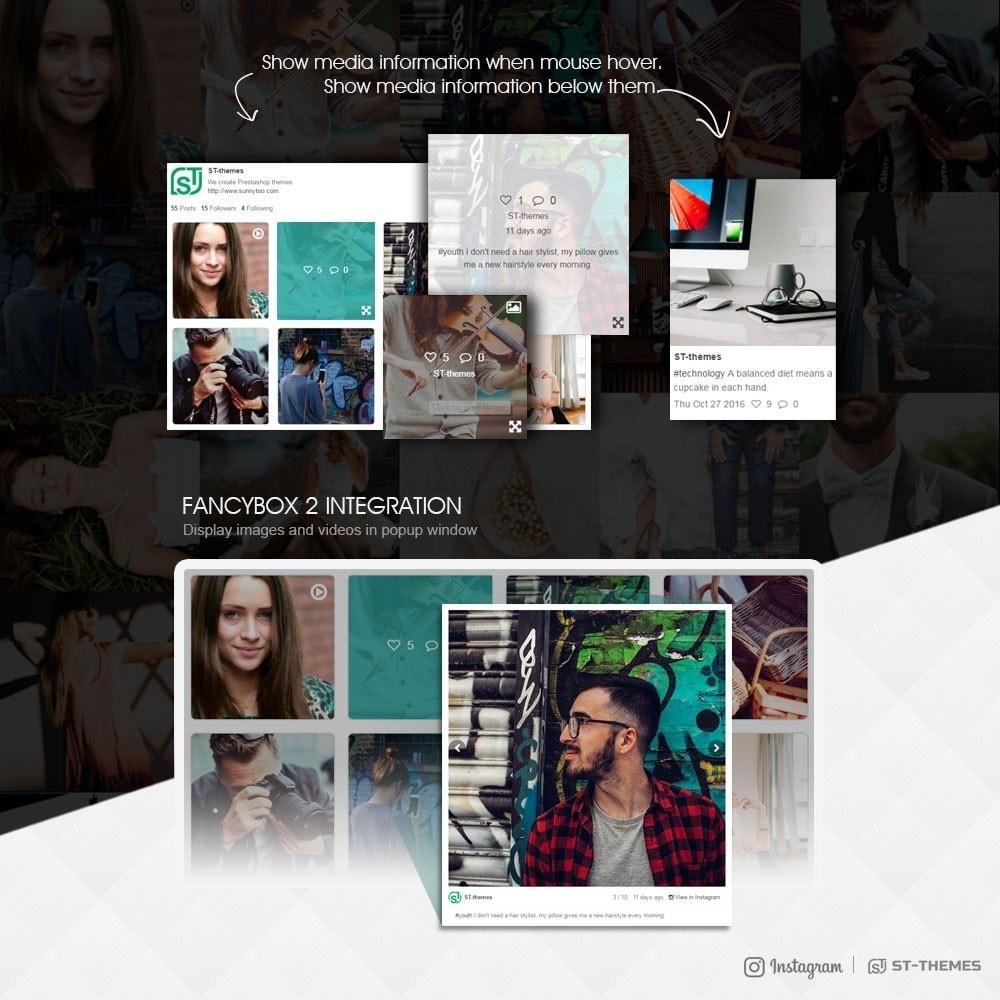 module - Widgety serwisów społecznościowych - Advanced social feed - 3