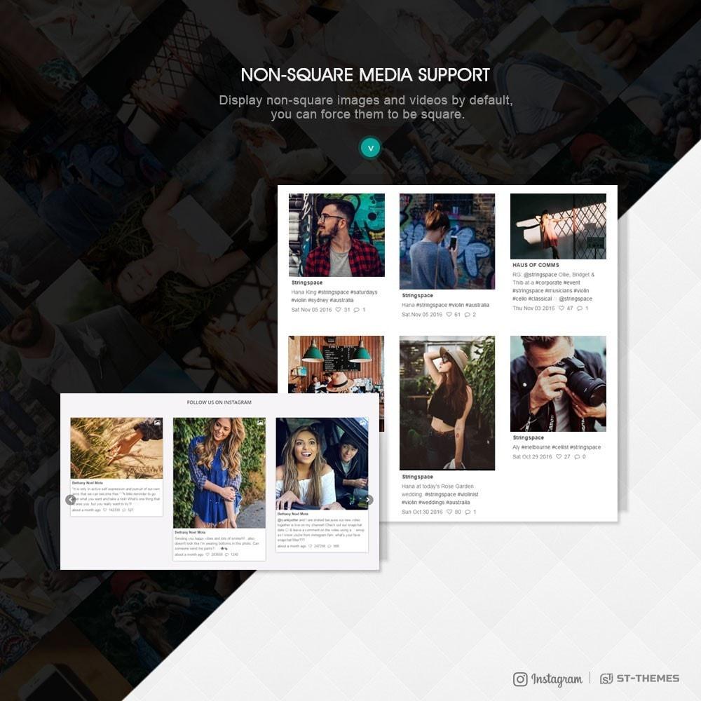 module - Widgety serwisów społecznościowych - Advanced social feed - 5
