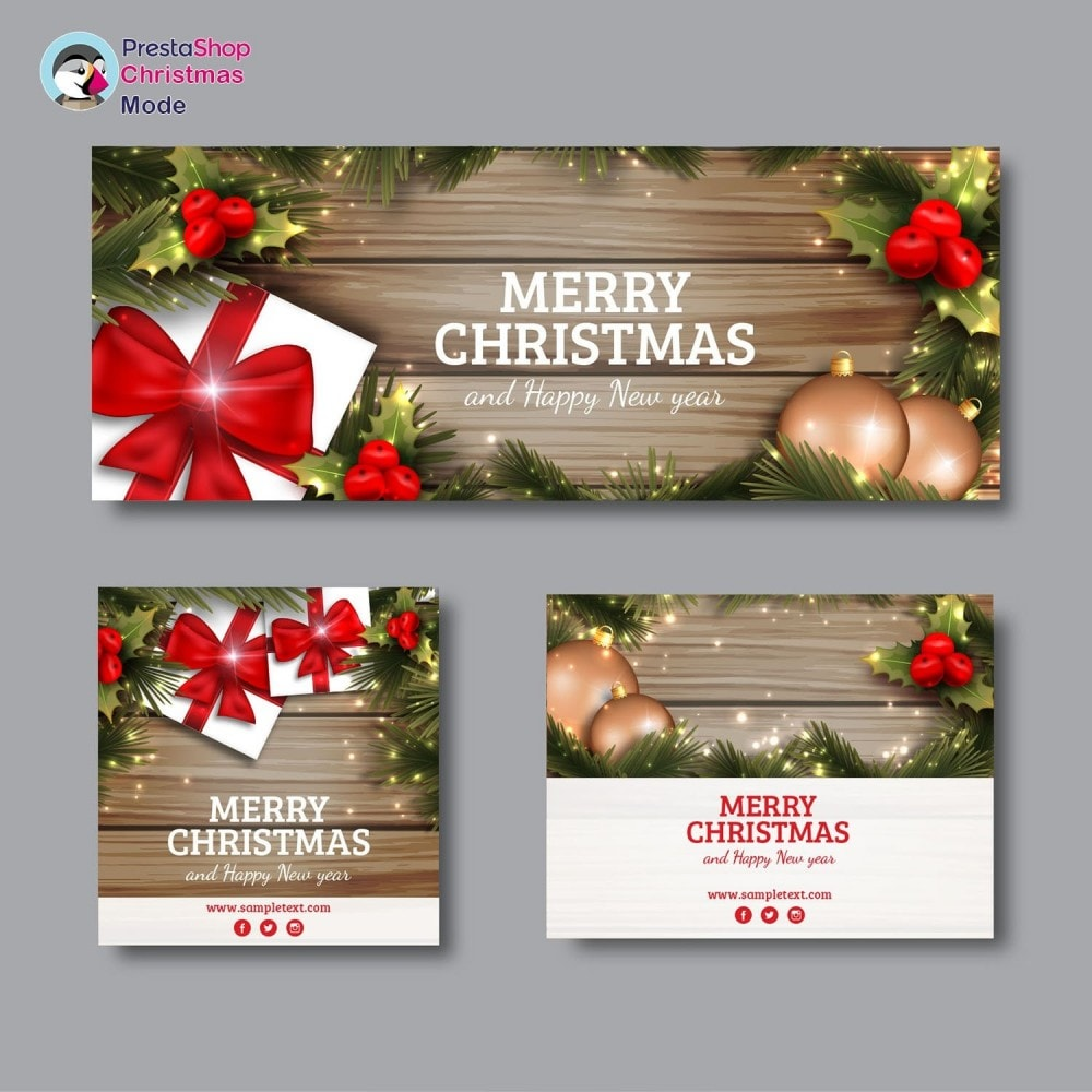 module - Personalización de la página - Christmas Mode - Shop design customizer - 7