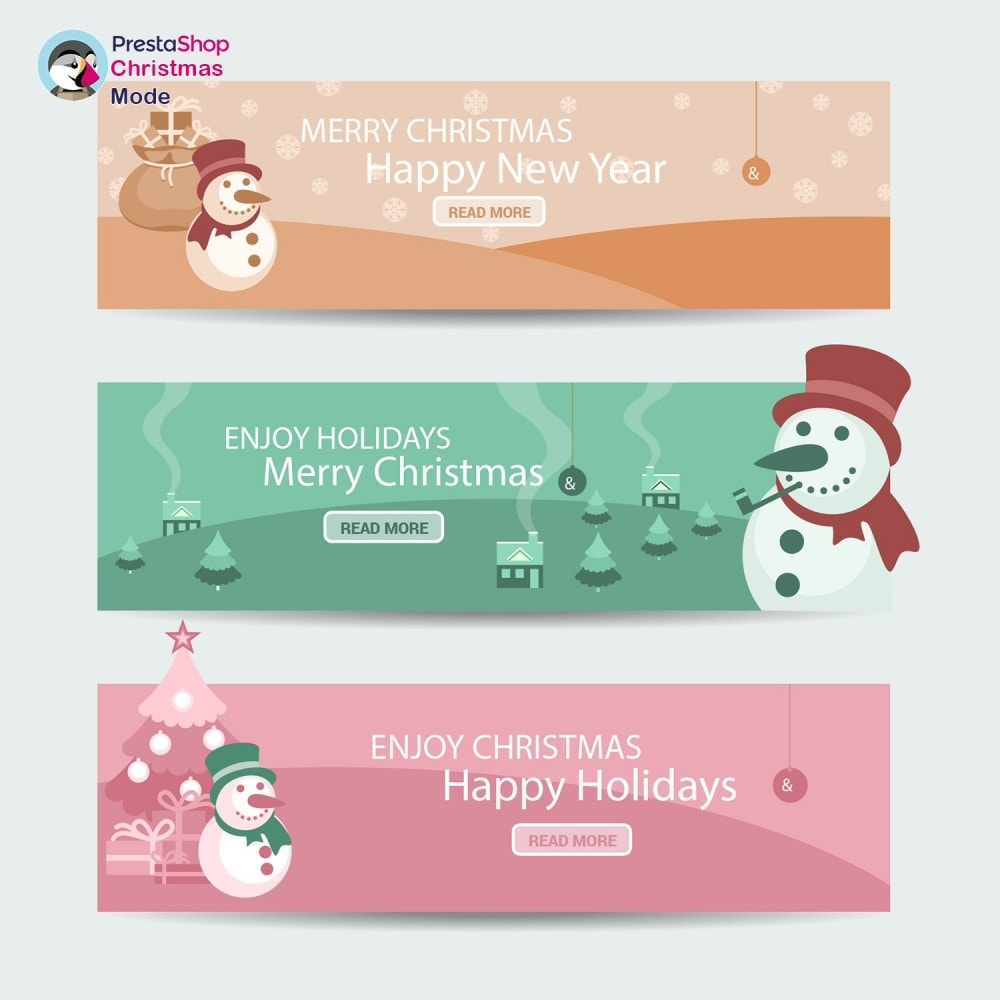 module - Personalización de la página - Christmas Mode - Shop design customizer - 10