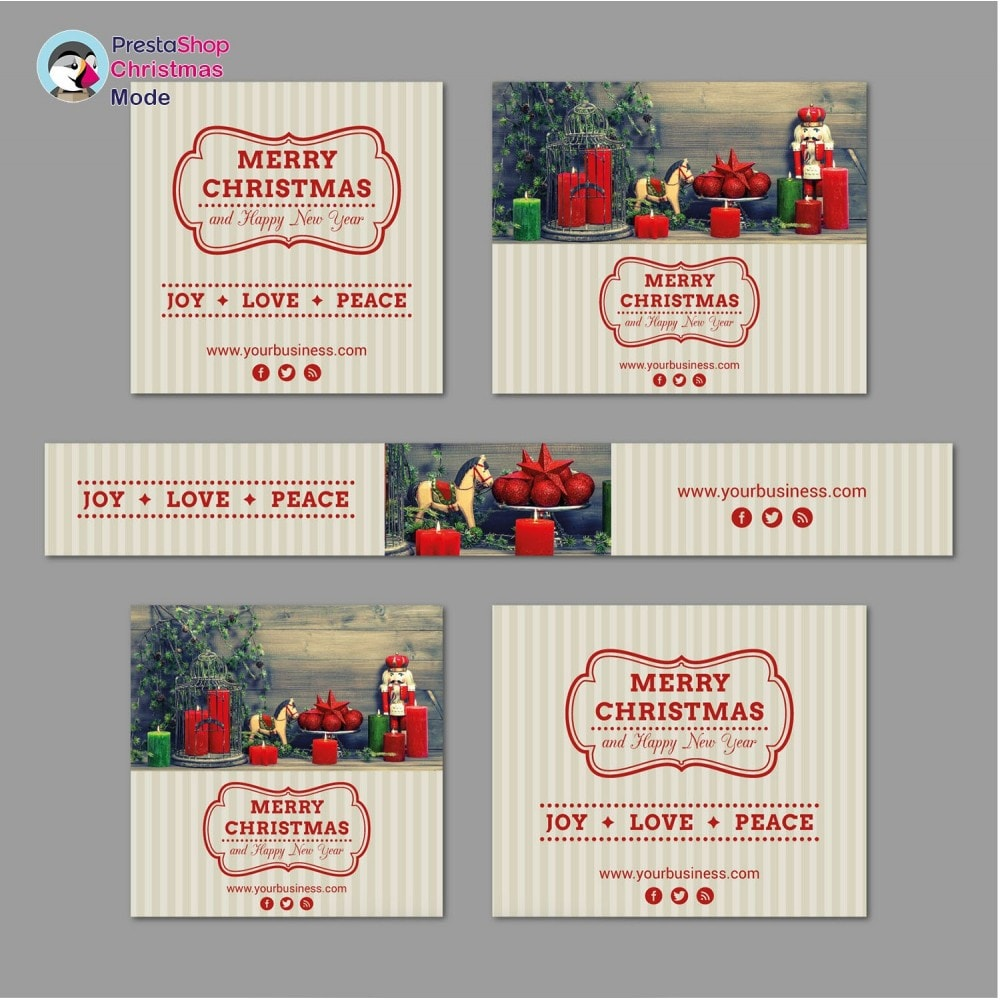 module - Personalización de la página - Christmas Mode - Shop design customizer - 11