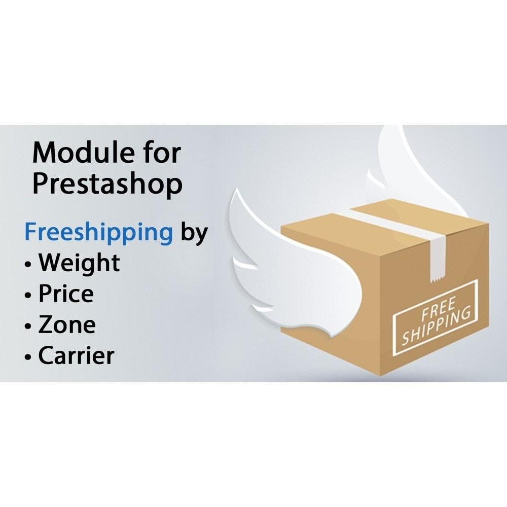 module - Gastos de transporte - Freeshipping,envío gratis por peso, precio, mensajeria - 1