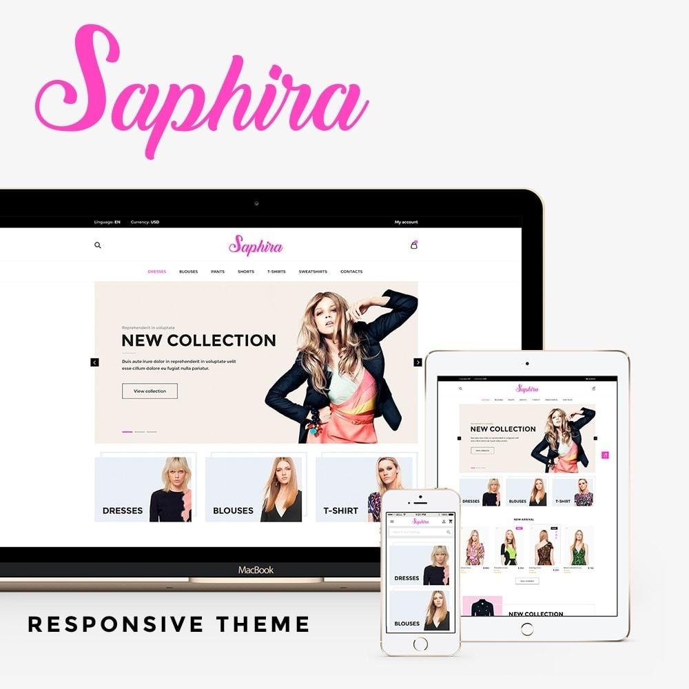 theme - Fashion & Shoes - Saphira Women's Clothing - 1