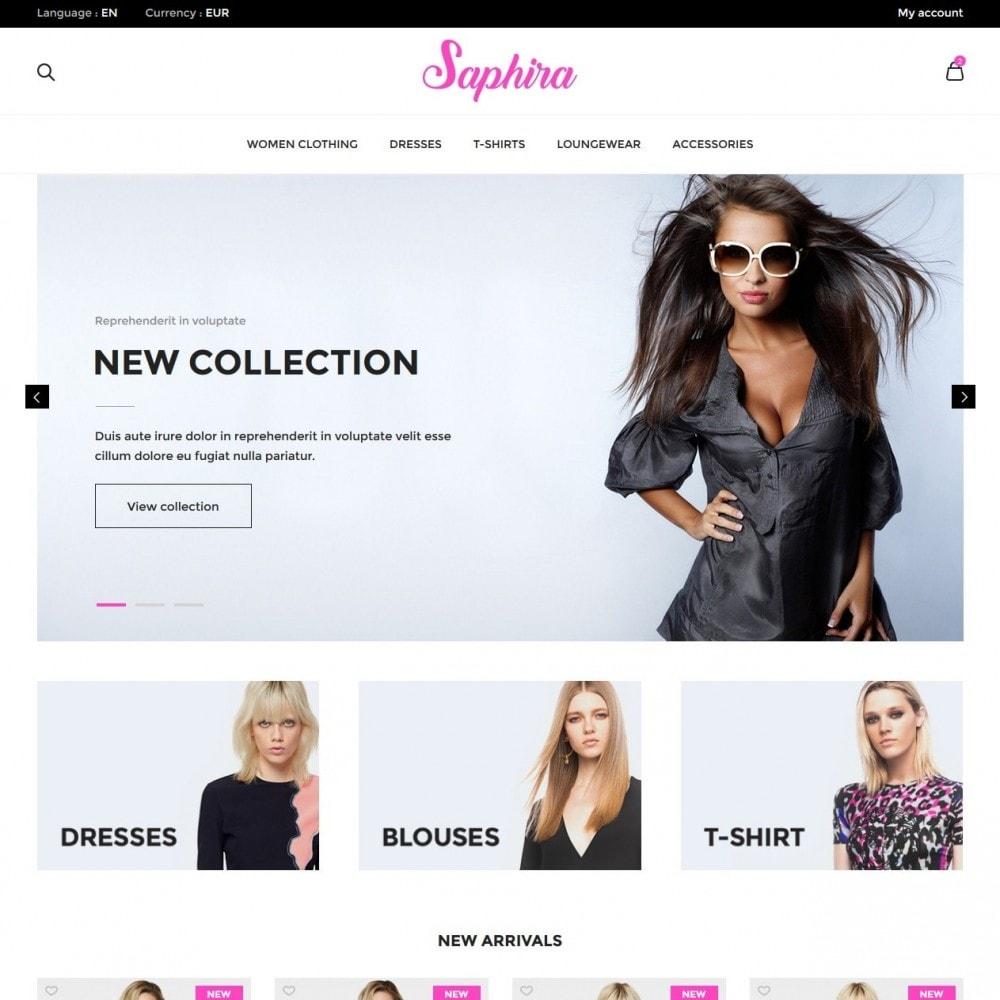 theme - Fashion & Shoes - Saphira Women's Clothing - 2