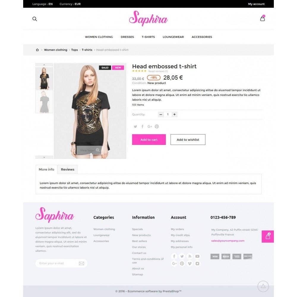 theme - Fashion & Shoes - Saphira Women's Clothing - 8