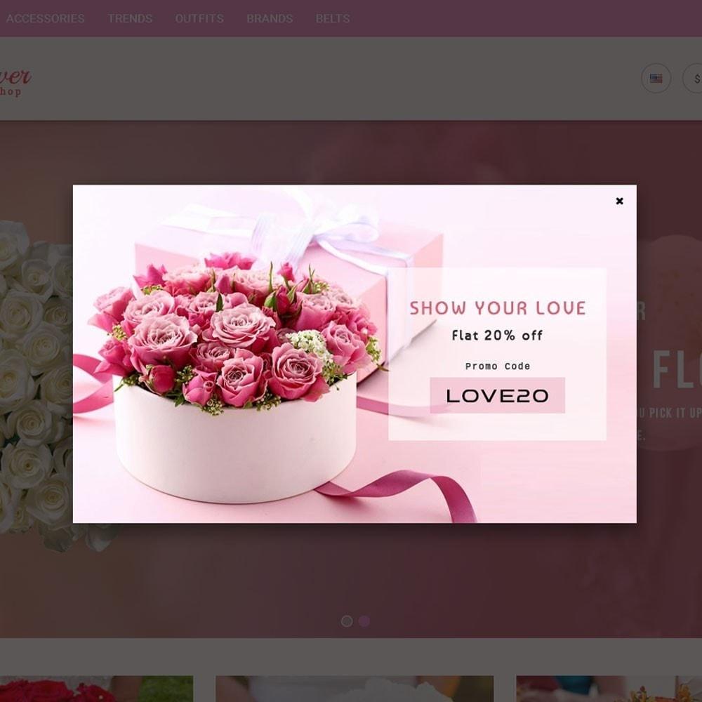 theme - Geschenke, Blumen & Feiern - Flower Store - 4