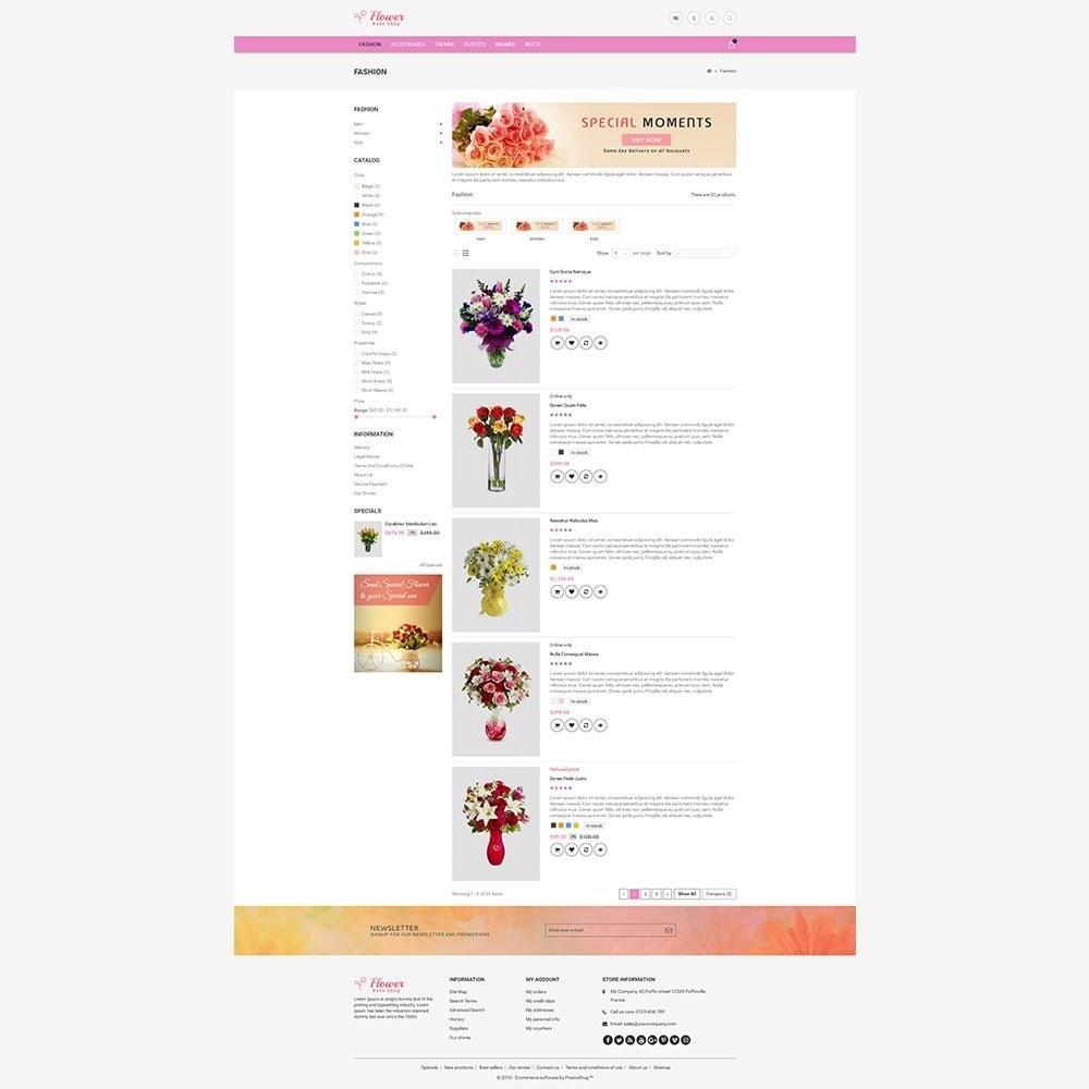 theme - Geschenke, Blumen & Feiern - Flower Store - 7