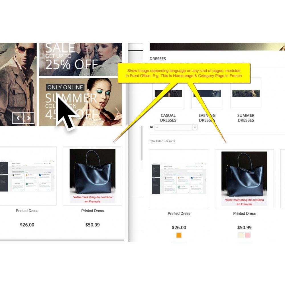 module - Visuels des produits - Multi-language image - Product image per language - 4