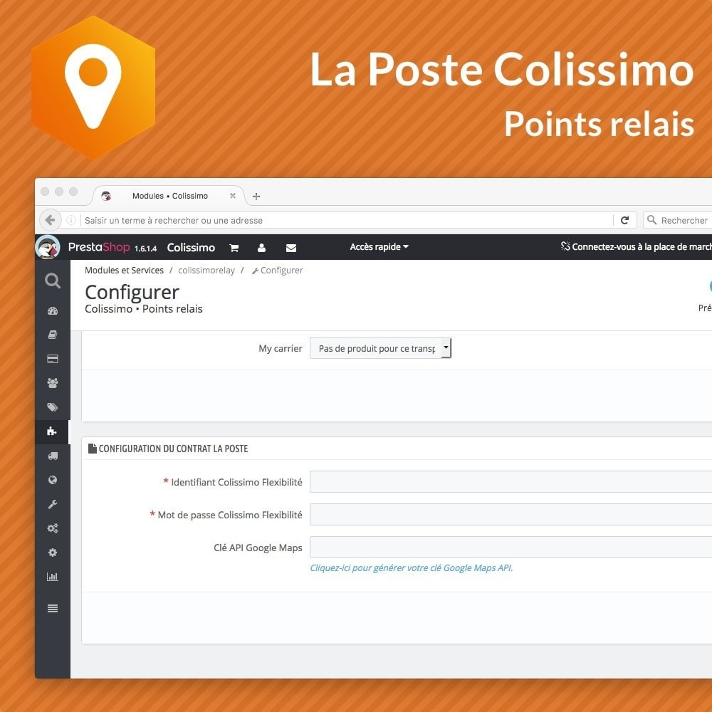 module - Collection Points & In-Store Pick Up - Colissimo Points Relais - 2