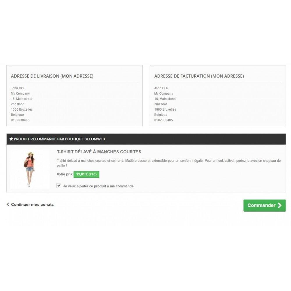 module - Inscription & Processus de commande - Case à cocher ajouter au panier - 2