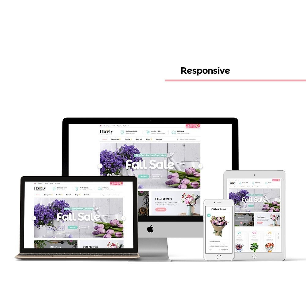 theme - PrestaShop Templates - Pts Floristy - 1
