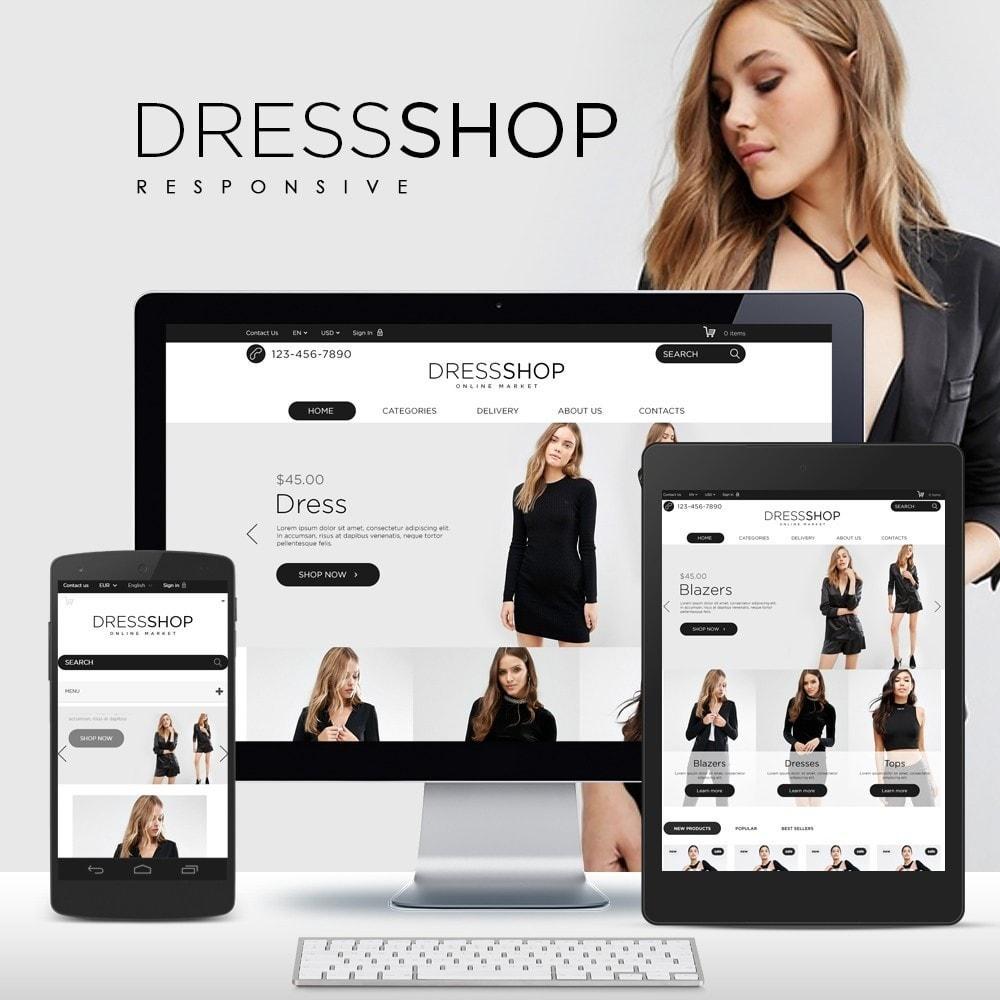 theme - Moda & Calçados - DressShop - 1