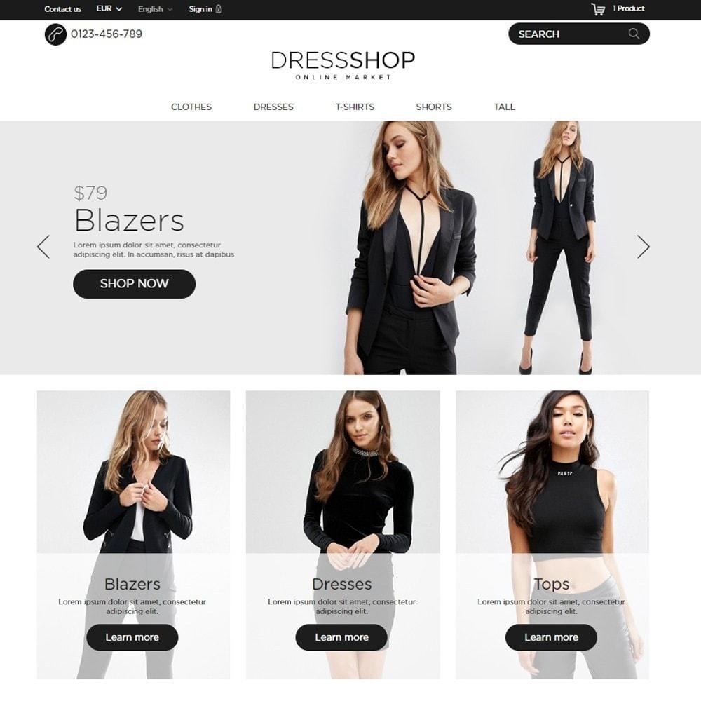 theme - Moda & Calçados - DressShop - 2
