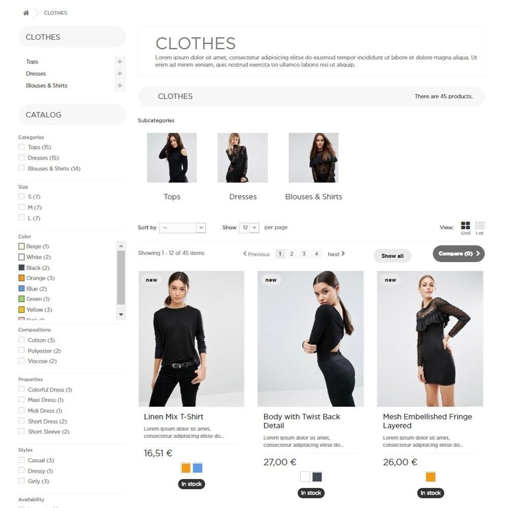 theme - Moda & Calçados - DressShop - 5