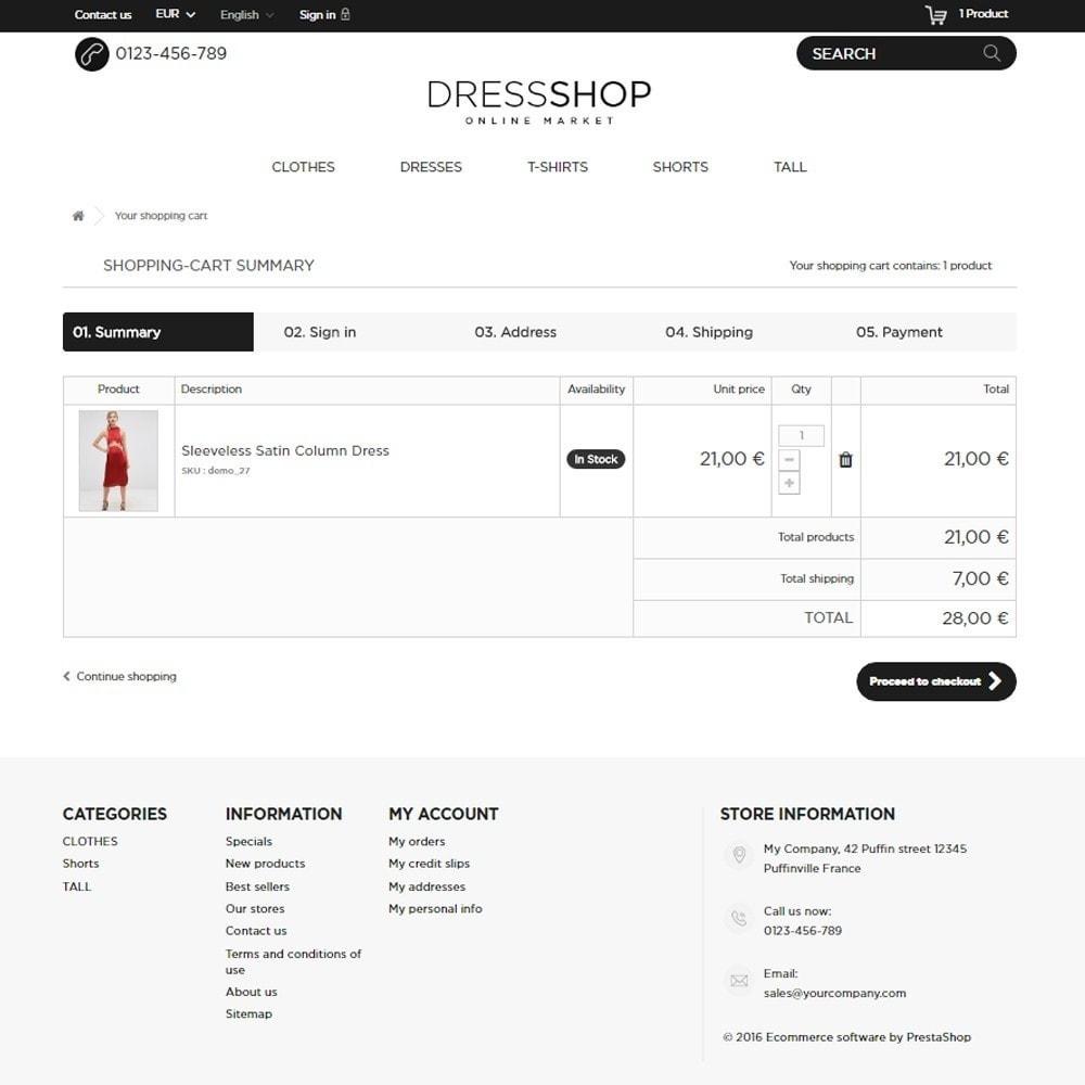 theme - Moda & Calçados - DressShop - 9