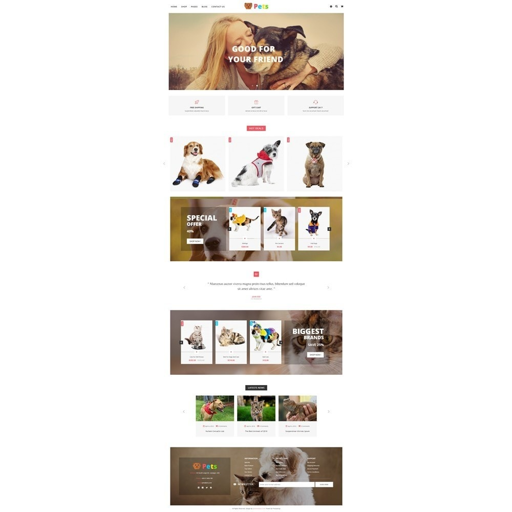 theme - Animals & Pets - JMS Pets - 7