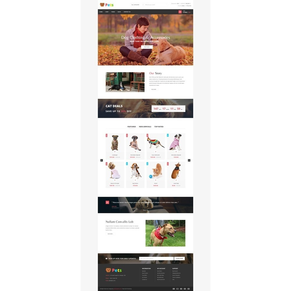 theme - Animals & Pets - JMS Pets - 8