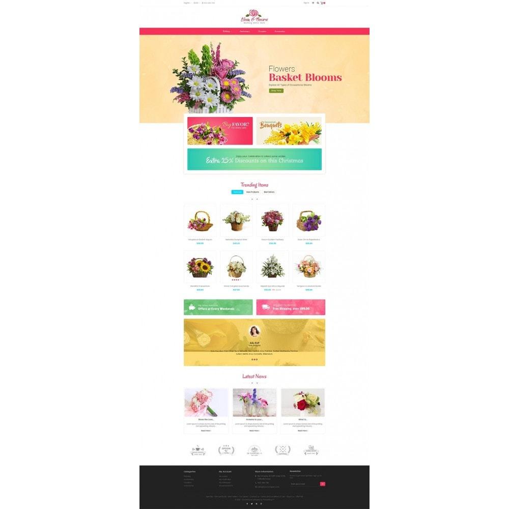 theme - Подарки, Цветы и праздничные товары - Bloom Flower Store - 2