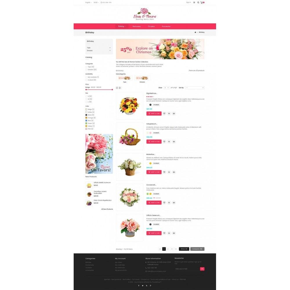 theme - Подарки, Цветы и праздничные товары - Bloom Flower Store - 4