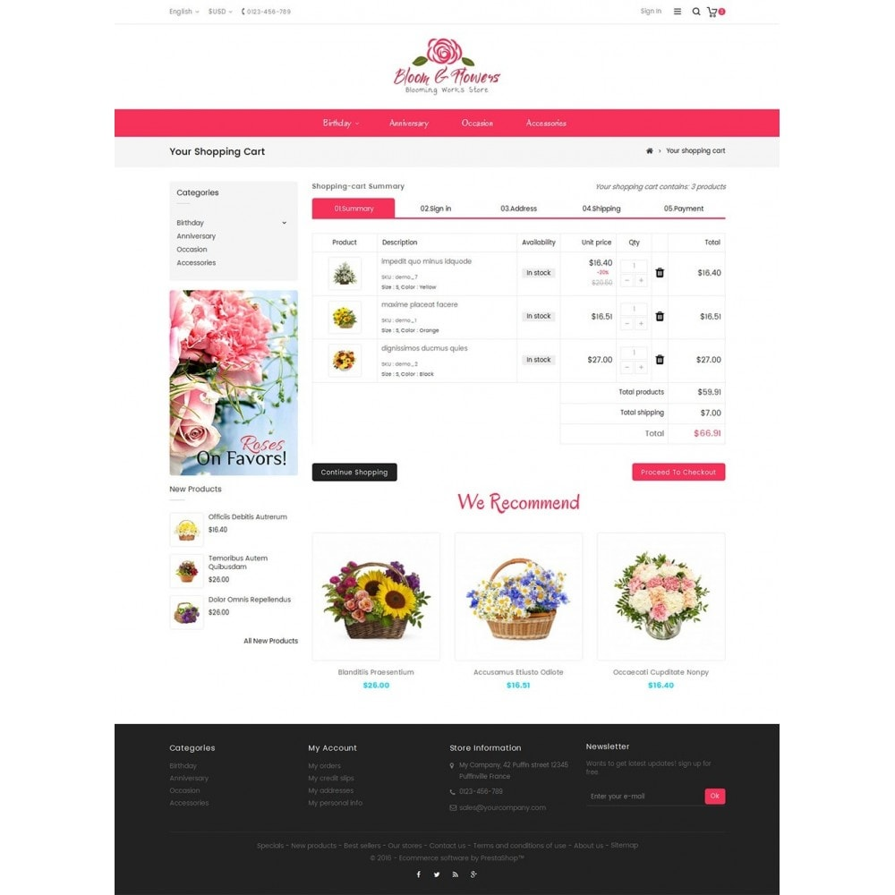theme - Подарки, Цветы и праздничные товары - Bloom Flower Store - 6