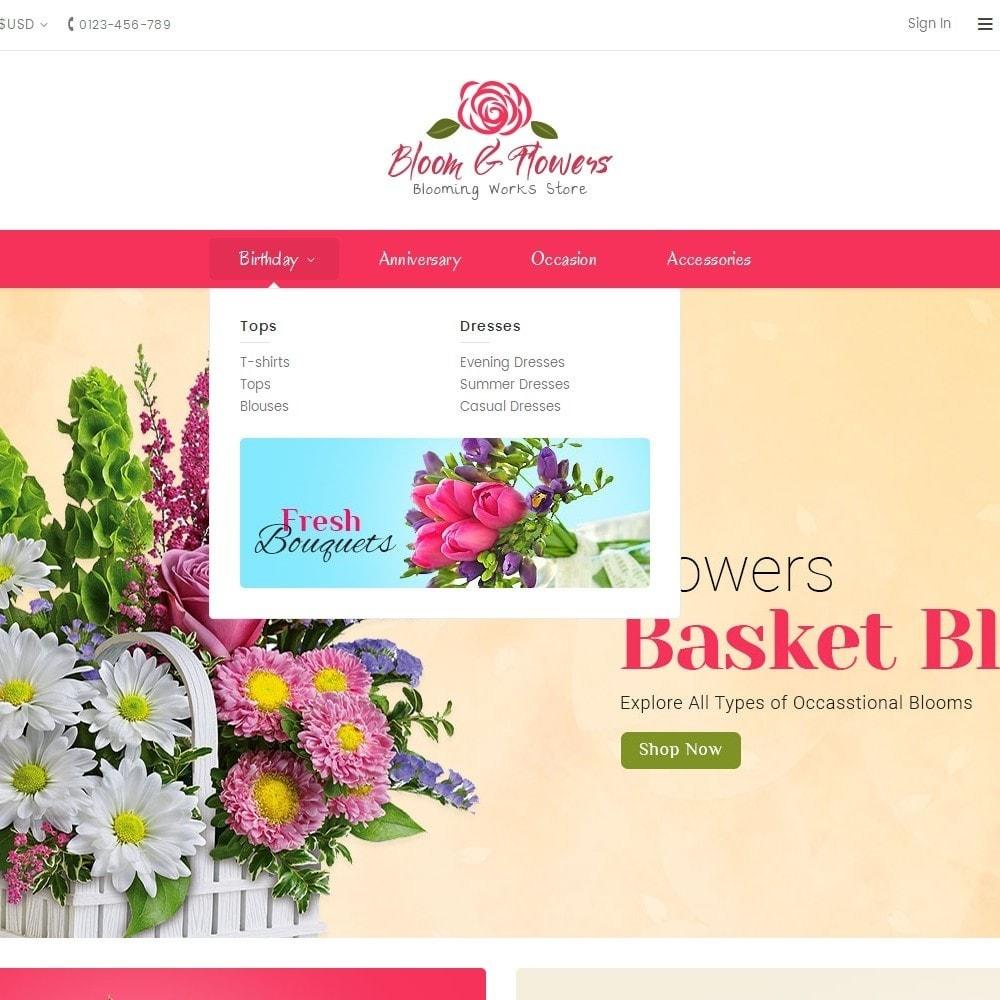 theme - Подарки, Цветы и праздничные товары - Bloom Flower Store - 8