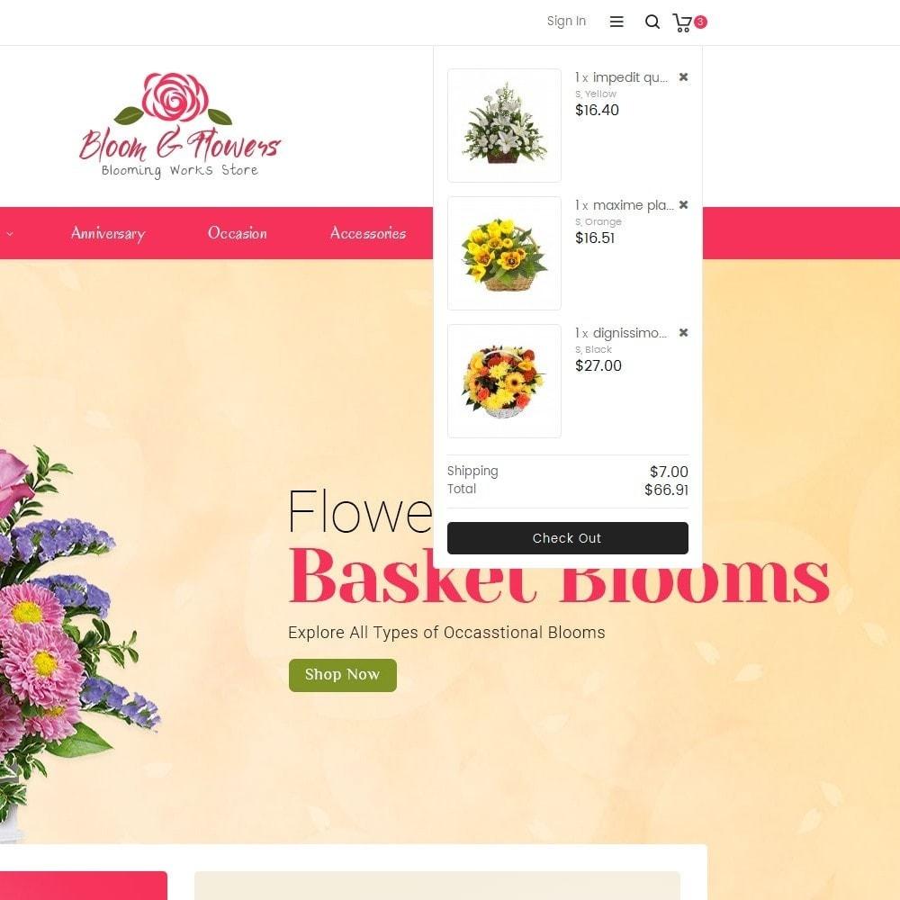 theme - Подарки, Цветы и праздничные товары - Bloom Flower Store - 9