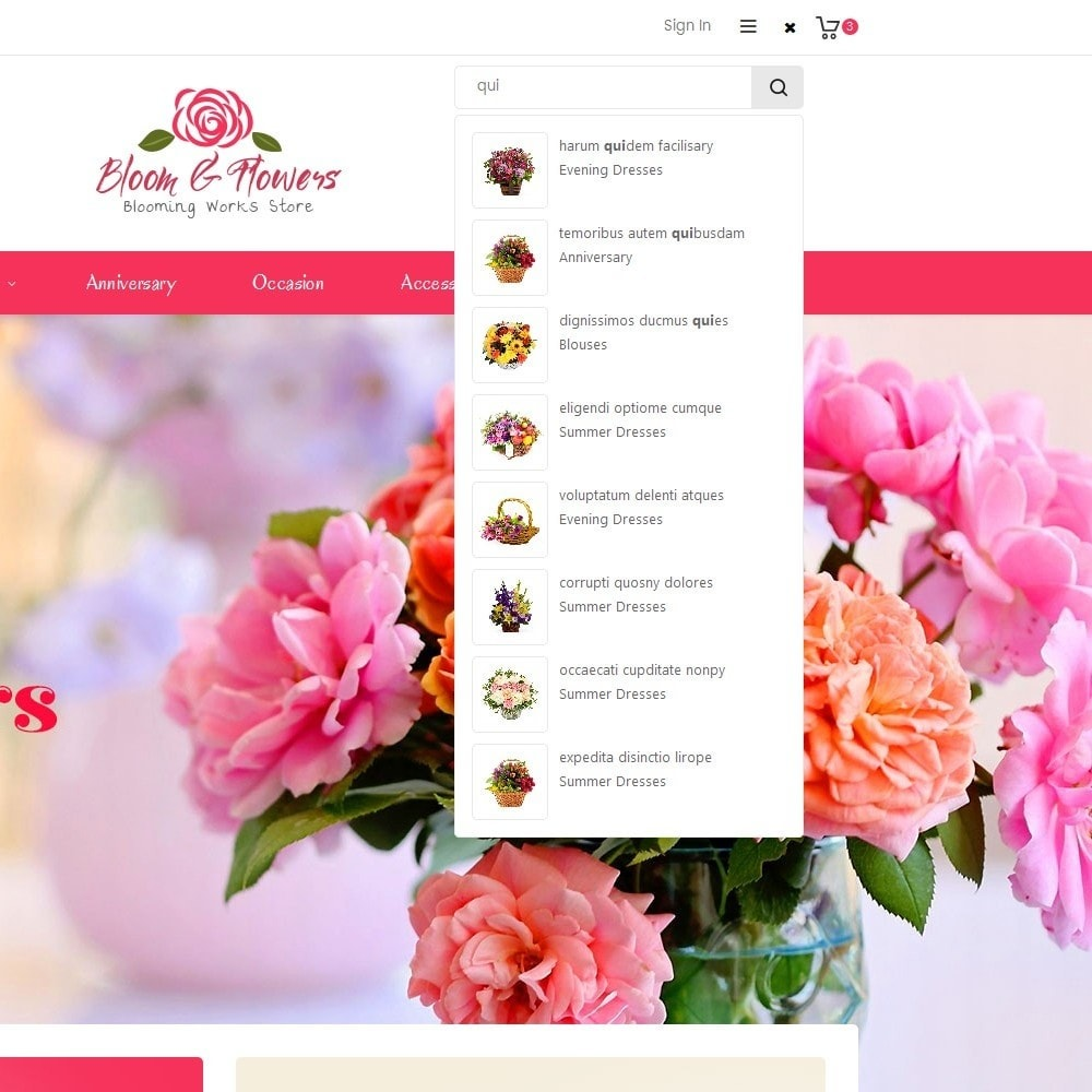 theme - Gifts, Flowers & Celebrations - Bloom Flower Store - 10