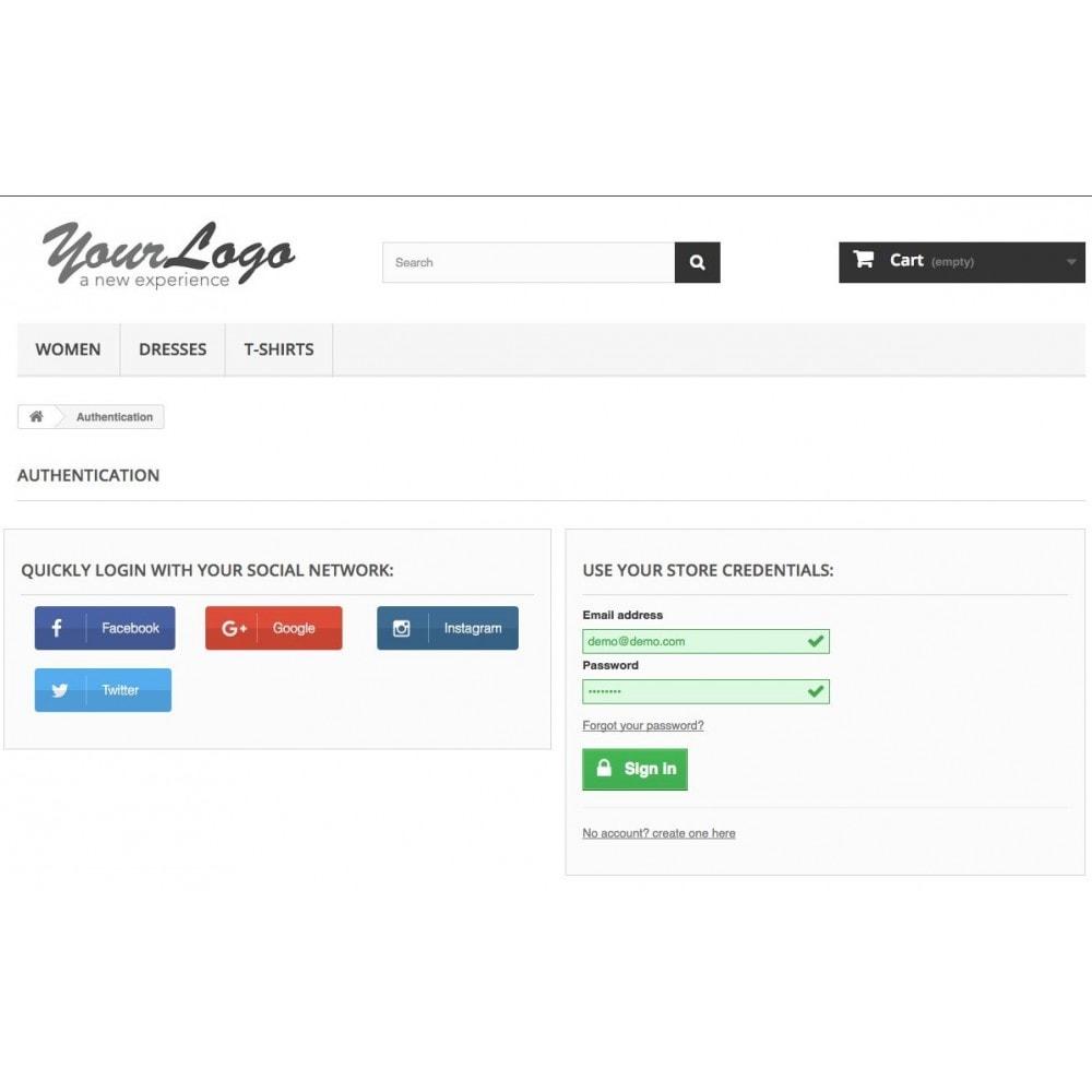 module - Social Login & Connect - Social Login Authentication - 3