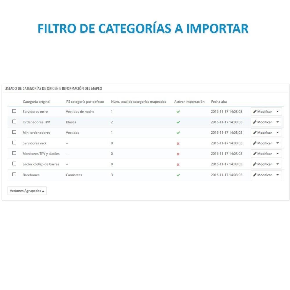 module - Importación y Exportación de datos - Actualizar datos CSV/XML vía URL/FTP cronjob compatible - 10