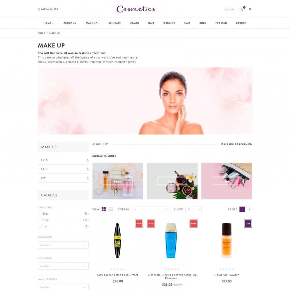 theme - Salud y Belleza - Cosmetics - Tienda de Cosméticos - 4