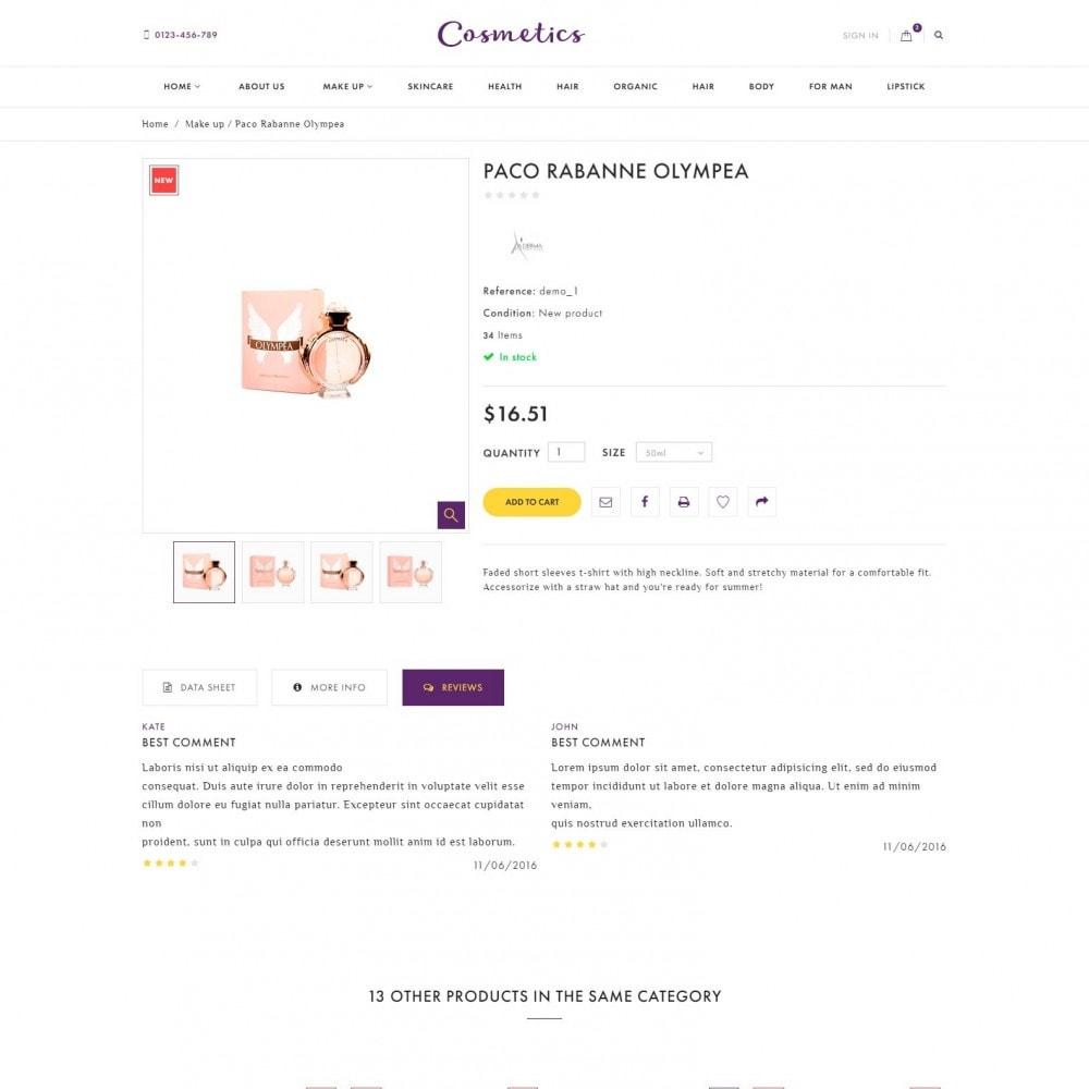 theme - Salud y Belleza - Cosmetics - Tienda de Cosméticos - 5