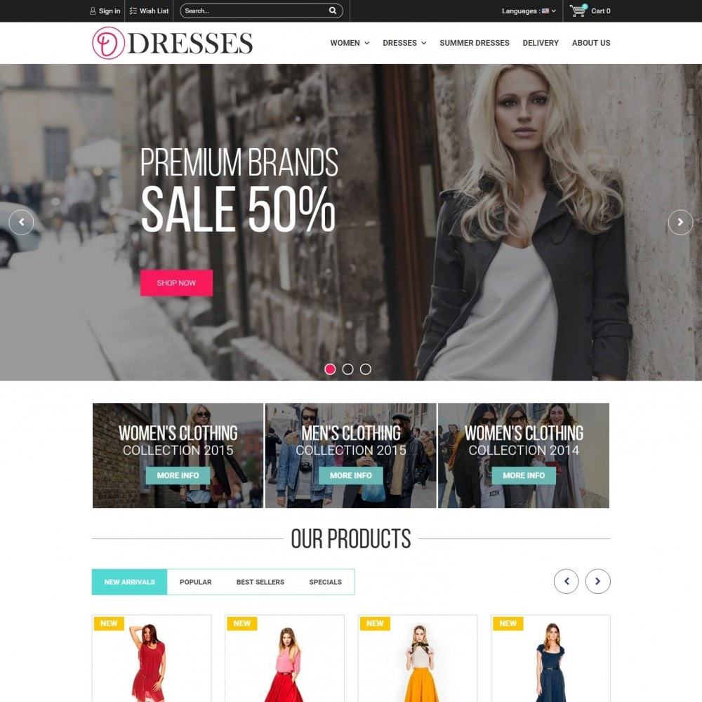 theme - Fashion & Shoes - Clothes - Clothing Store - 1