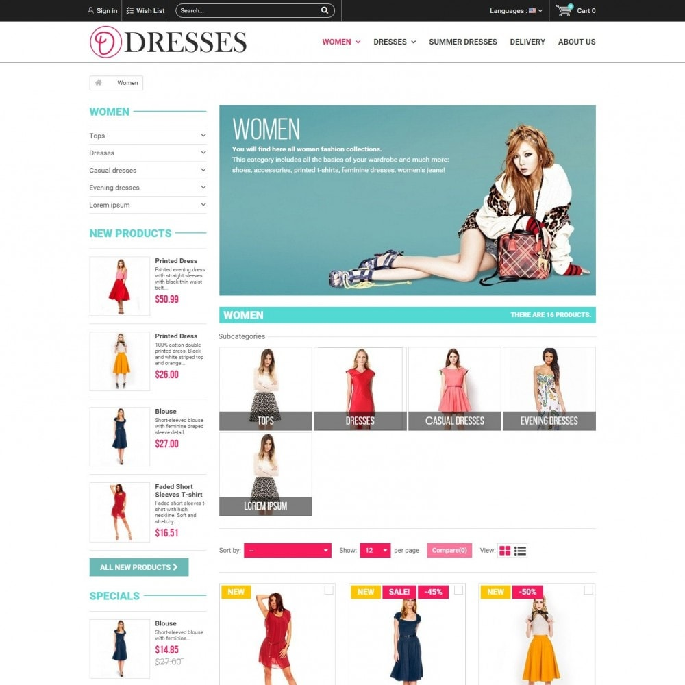 theme - Fashion & Shoes - Clothes - Clothing Store - 2