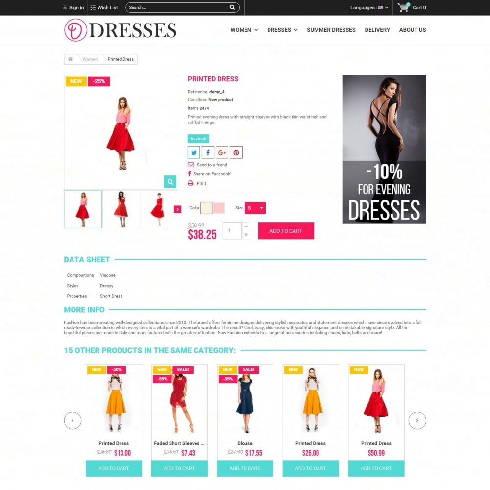 theme - Fashion & Shoes - Clothes - Clothing Store - 3