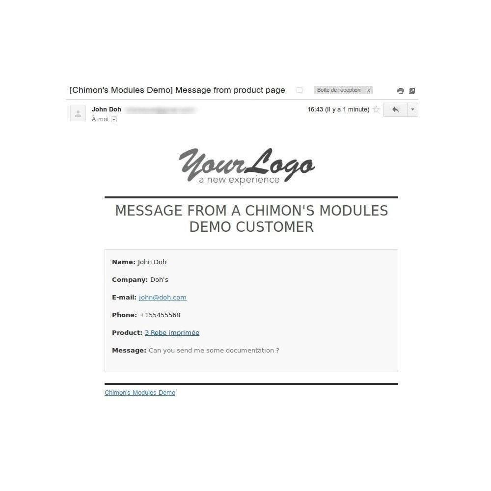 module - Formulaires de Contact & Sondages - ContactBox - formulaire de contact personnalisable - 7