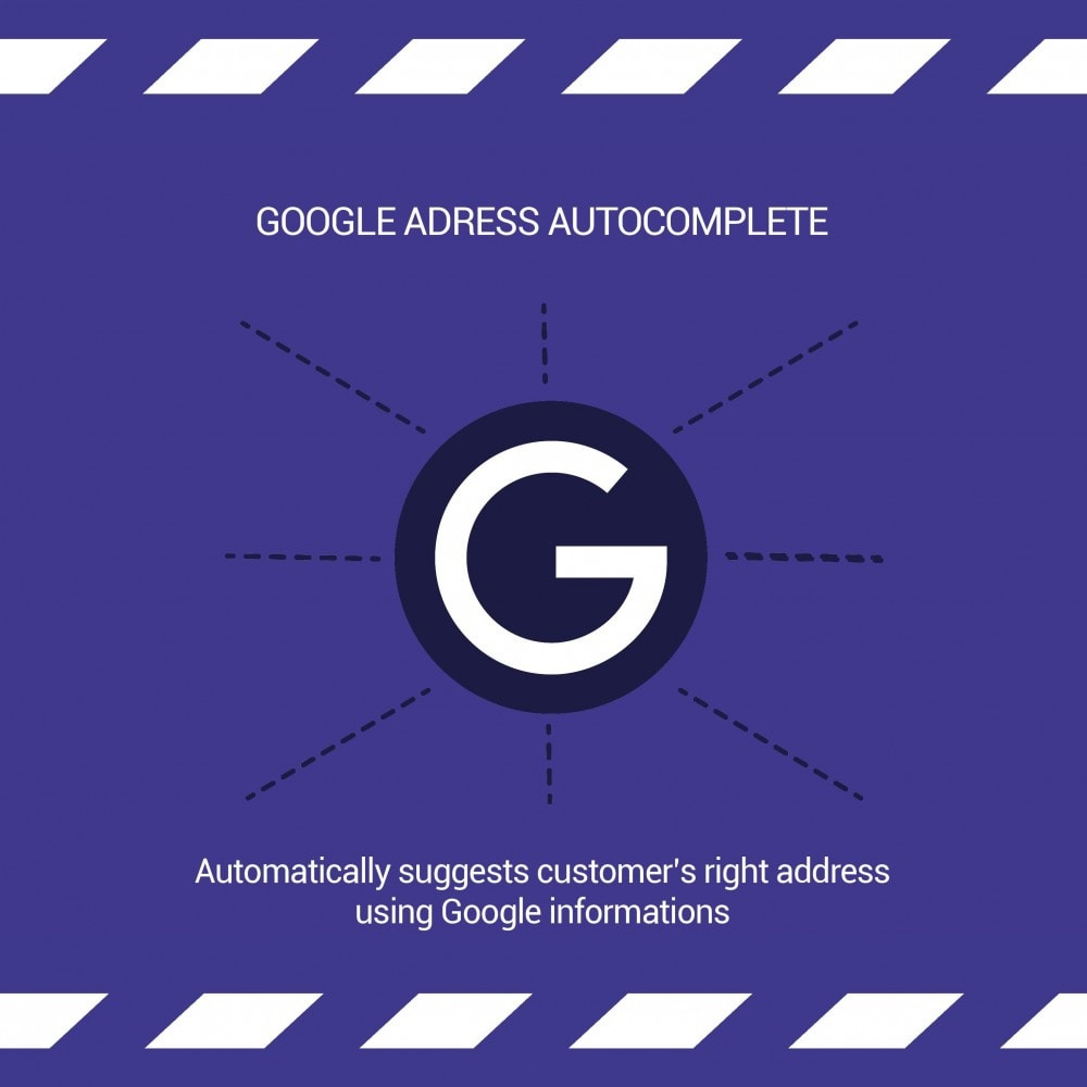 module - Registratie en Proces van bestellingen - Google Address Autocomplete - 1