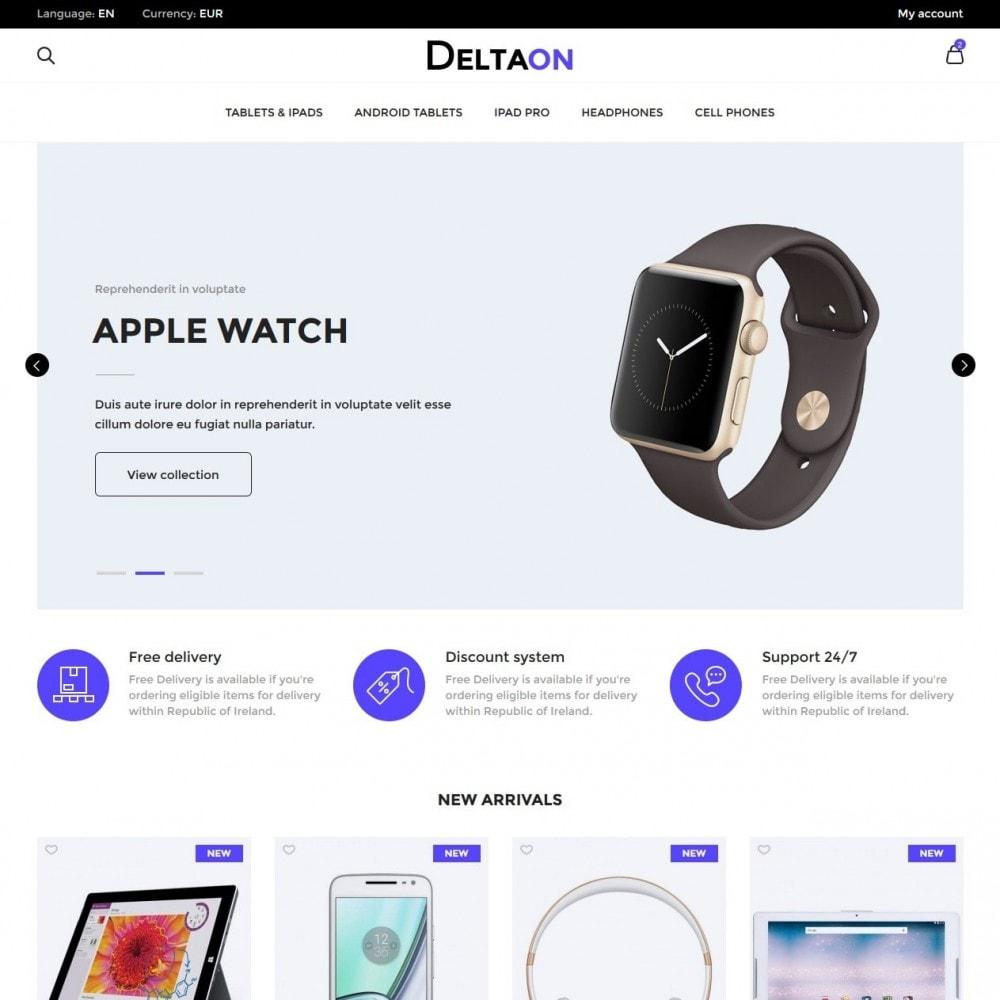 theme - Электроника и компьютеры - DeltaON Store - 2