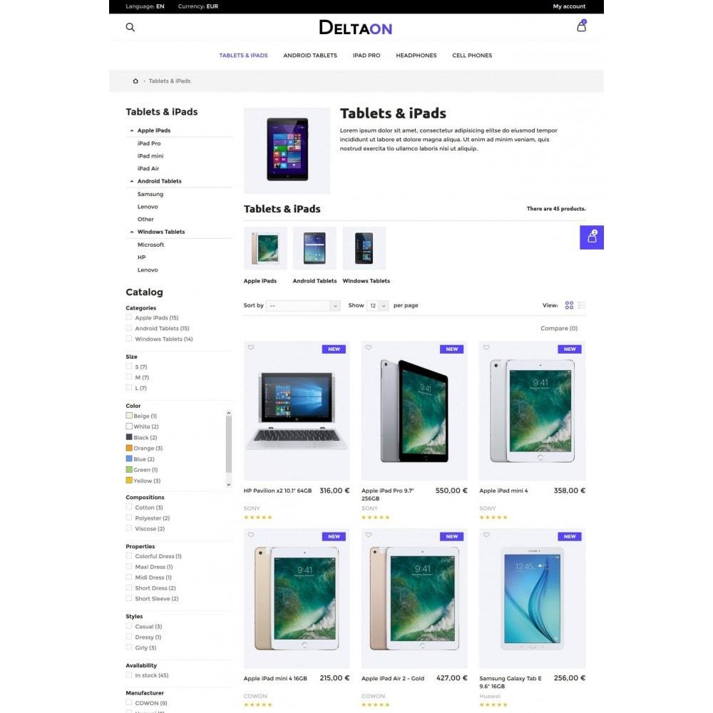theme - Электроника и компьютеры - DeltaON Store - 4