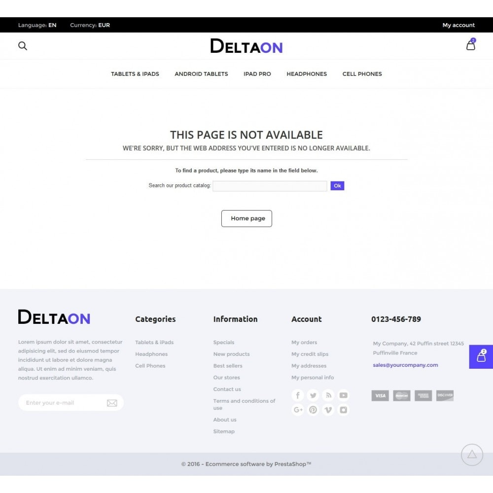theme - Электроника и компьютеры - DeltaON Store - 10