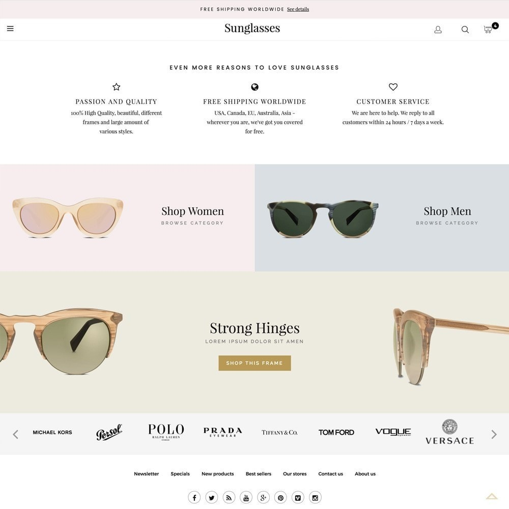 theme - Mode & Chaussures - Sunglasses - 4