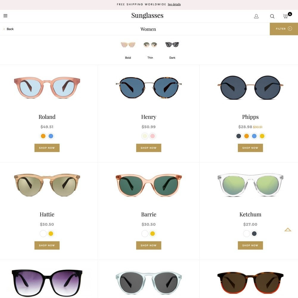theme - Mode & Chaussures - Sunglasses - 6
