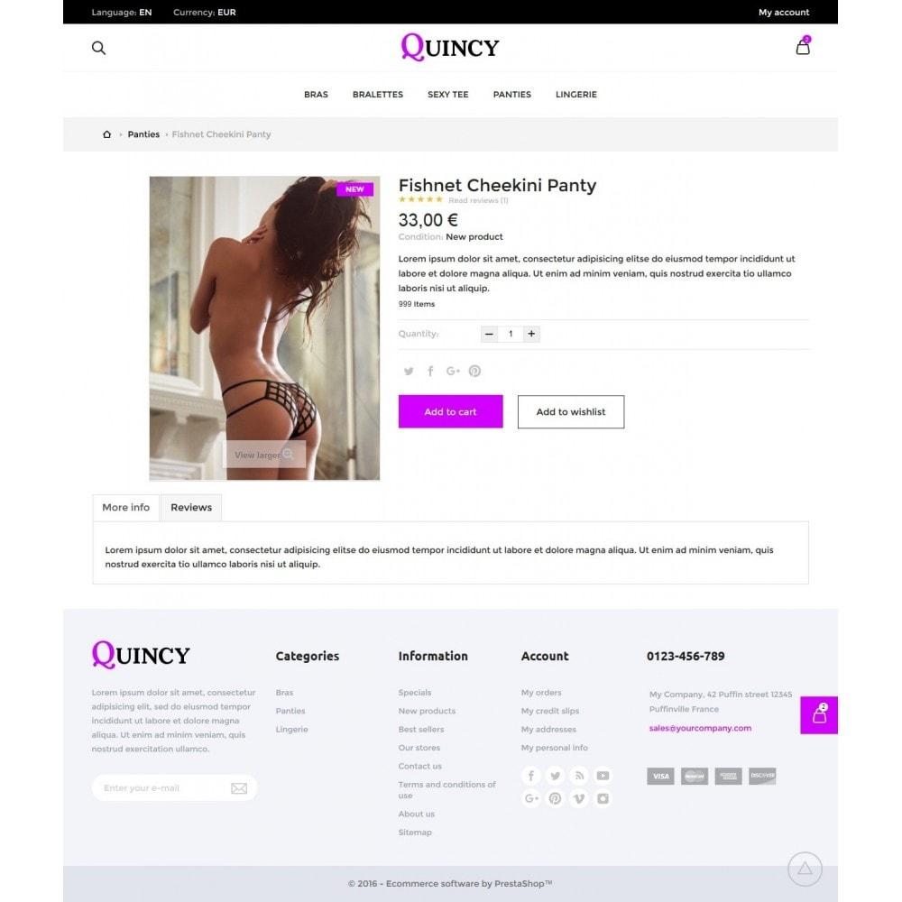 theme - Bielizna & Dorośli - Quincy Shop - 6