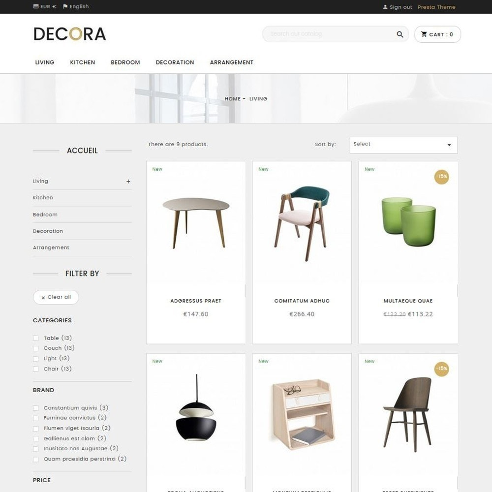 theme - Heim & Garten - Decora - 2