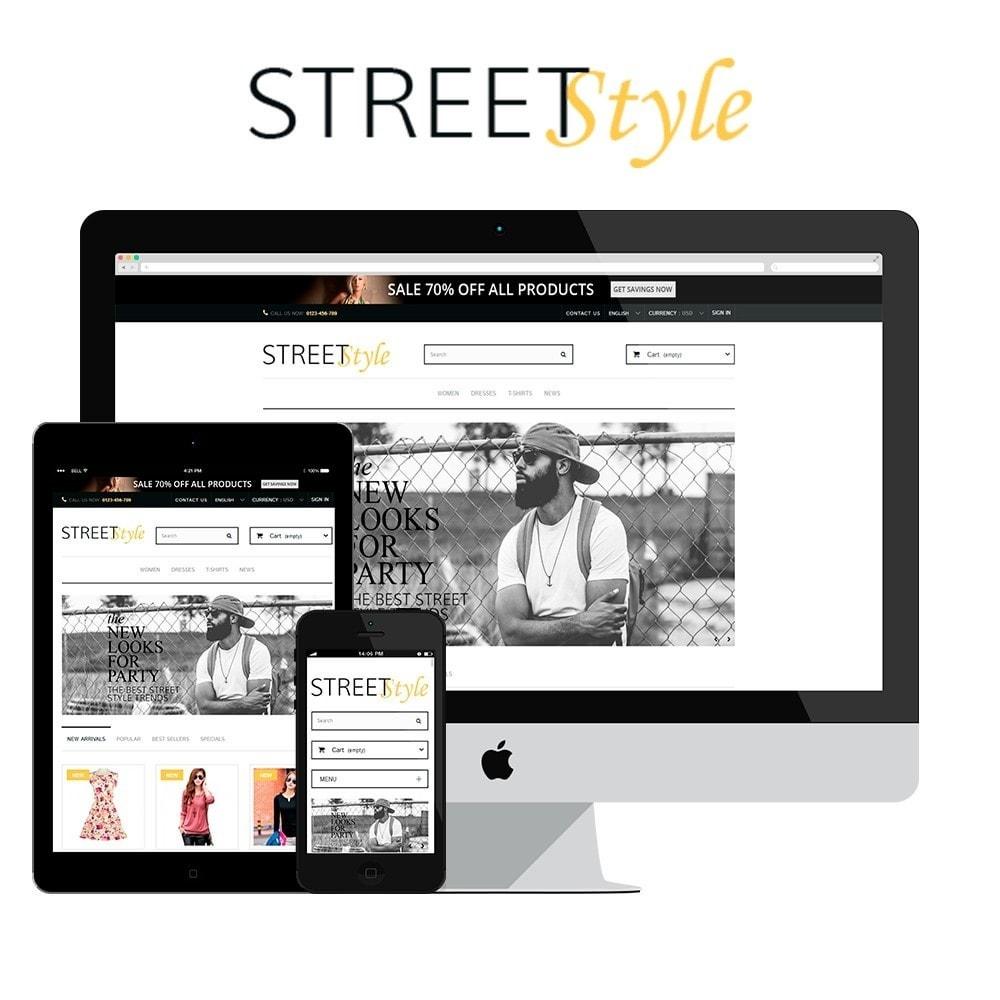 theme - Moda & Calçados - StreetStyle - 1