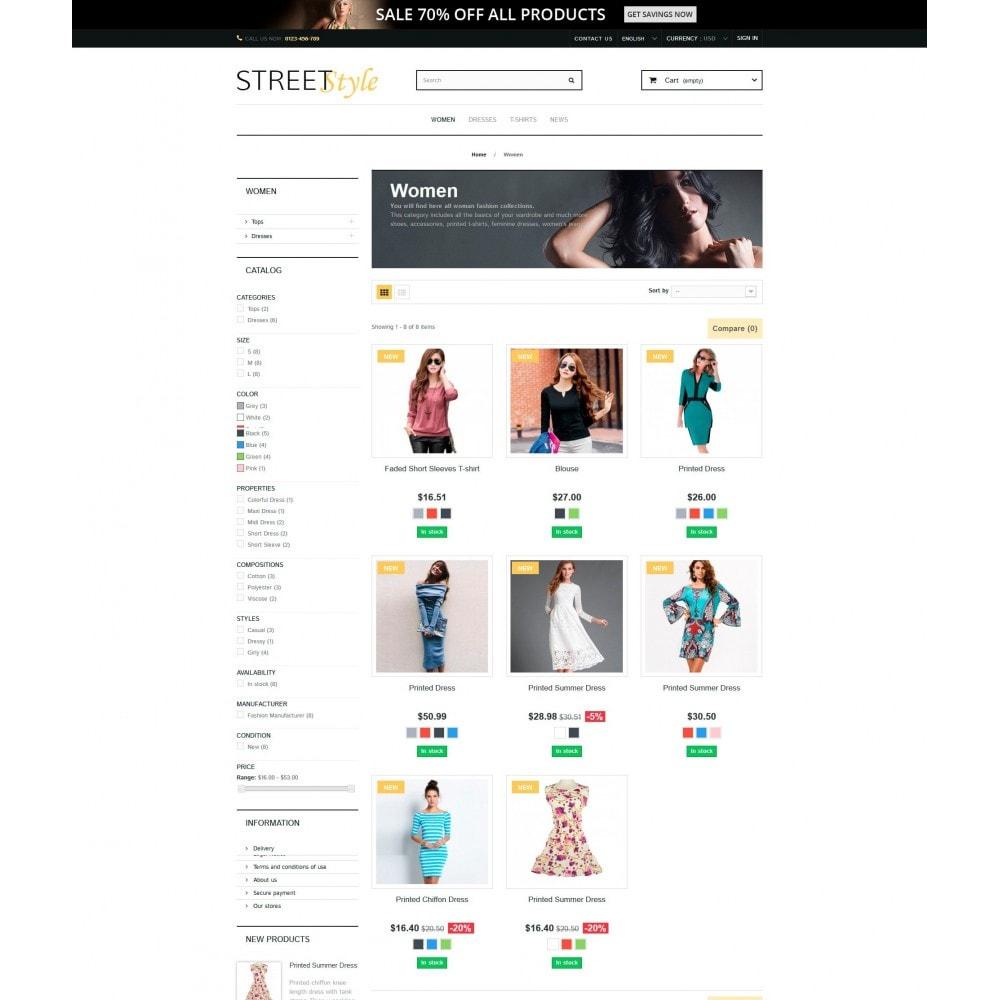 theme - Moda & Calçados - StreetStyle - 3
